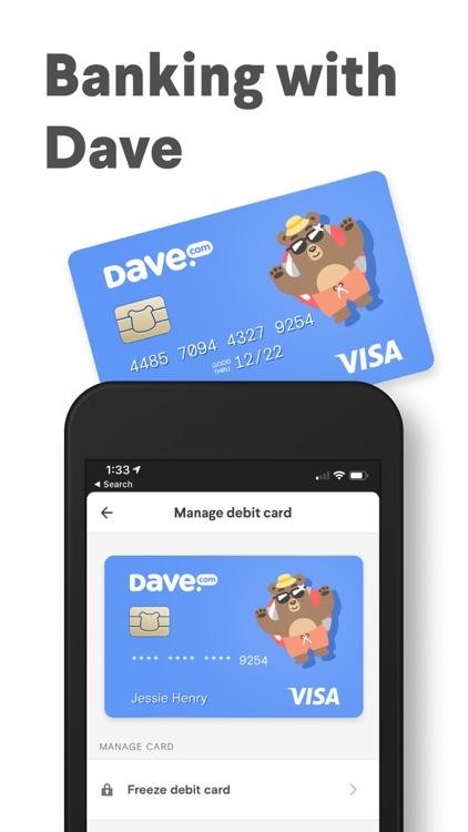 Dave - Banking For Humans screenshot-3
