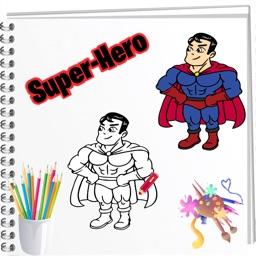Smart Coloring Super Heros