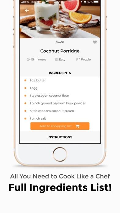 Plant Based Diet Screenshot