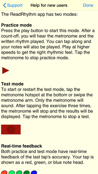 Rhythm Sight Reading Trainer review screenshots