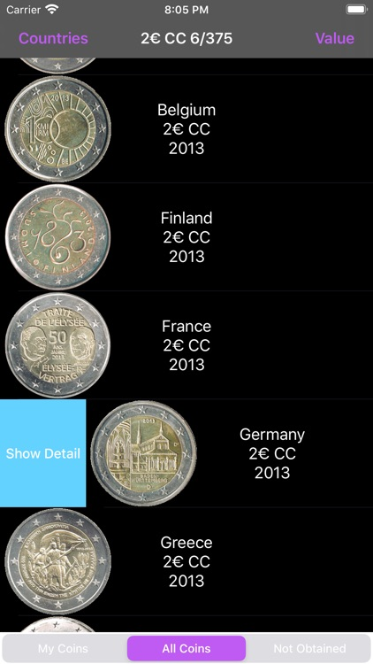 Euro Coins screenshot-5