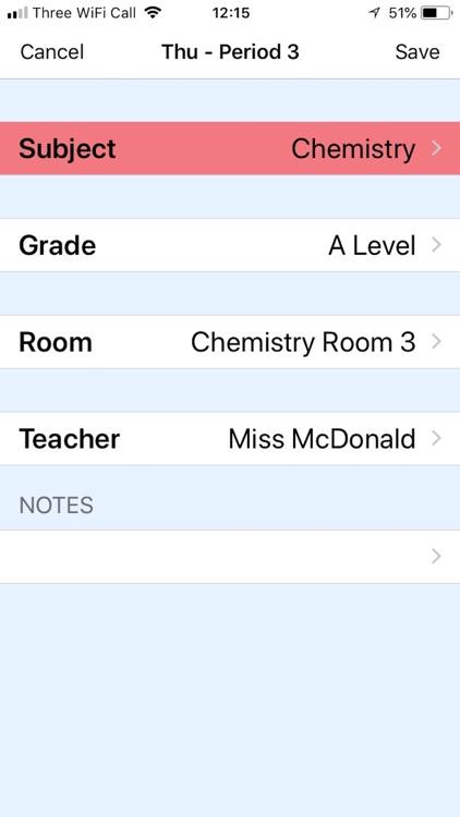 School Timetable screenshot-3
