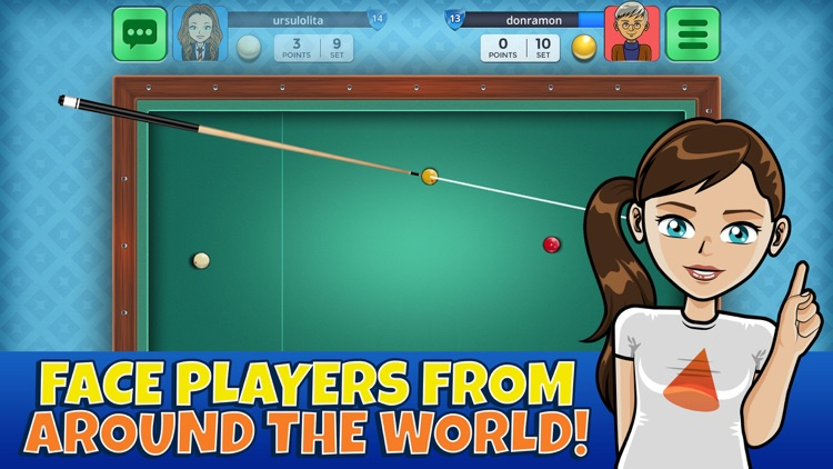 French Billiards Casual Arena screenshot-0