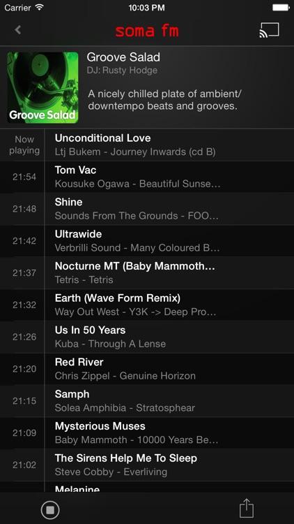SomaFM Radio Player screenshot-1