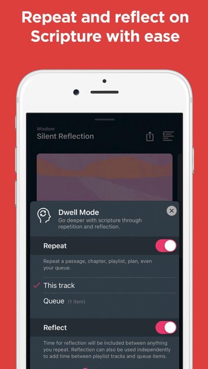 Dwell: Audio Bible screenshot-5