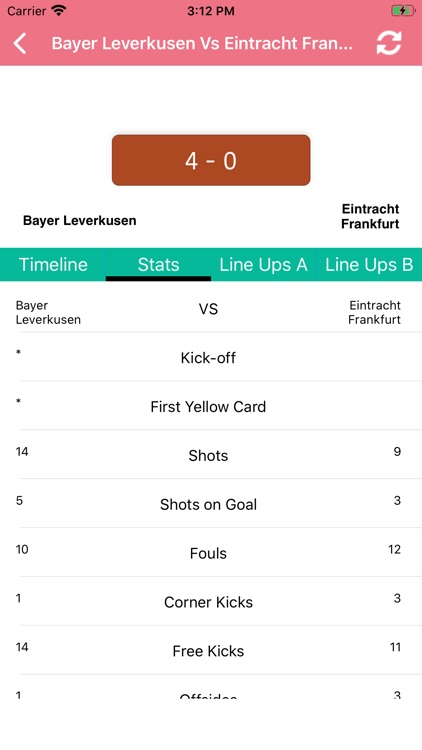 One Stop Football - Live Score screenshot-6