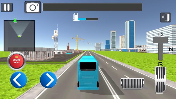 Simple City Coach Bus Driving screenshot-3