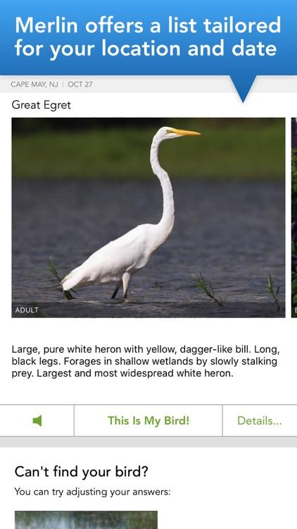 Merlin Bird ID by Cornell Lab screenshot-3