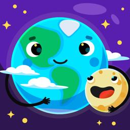 Ícone do app Star Walk Kids - Guia do céu