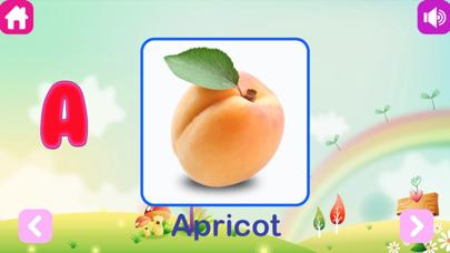 Kids Learn Veggies and Fruits screenshot two