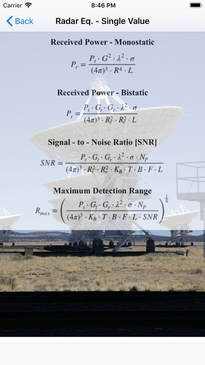 Radar Analysis Toolbox screenshot-3