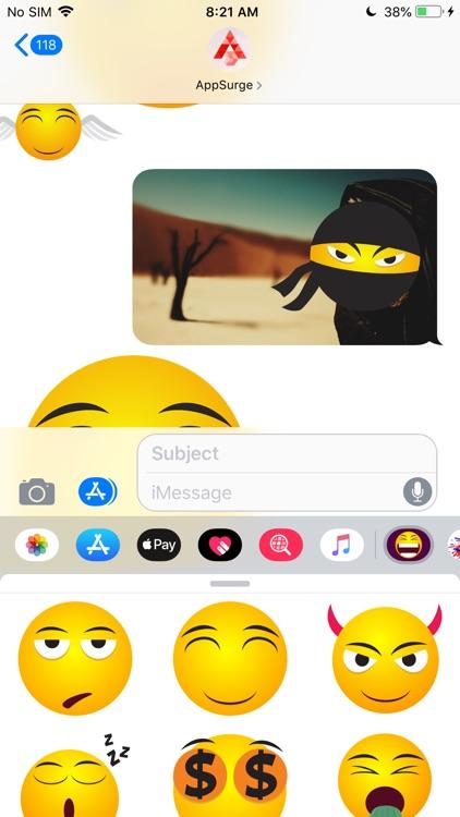 Emoji Me - Expressive Stickers screenshot-4