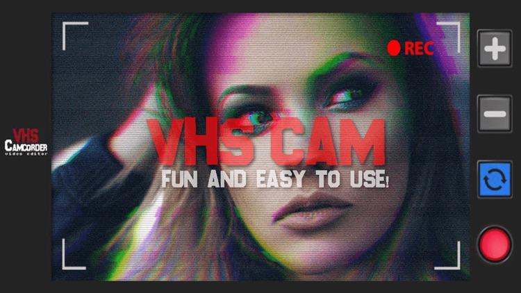 VHS Cam - Glitch Video Editor