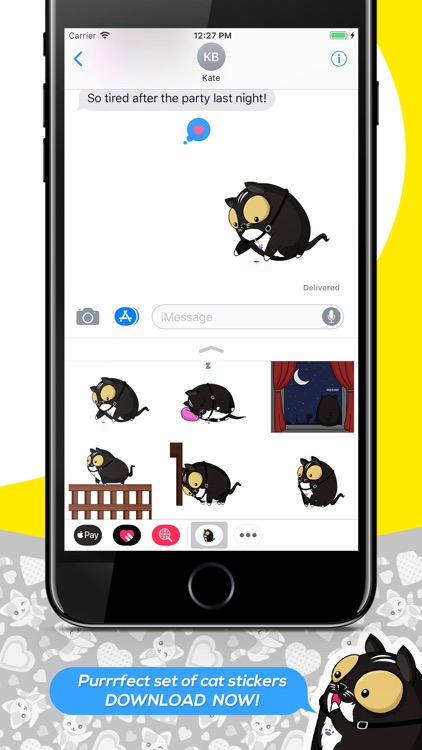 Andy the Cat Stickers screenshot-3