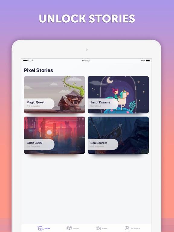 PixelArt by PicsArt для iPad