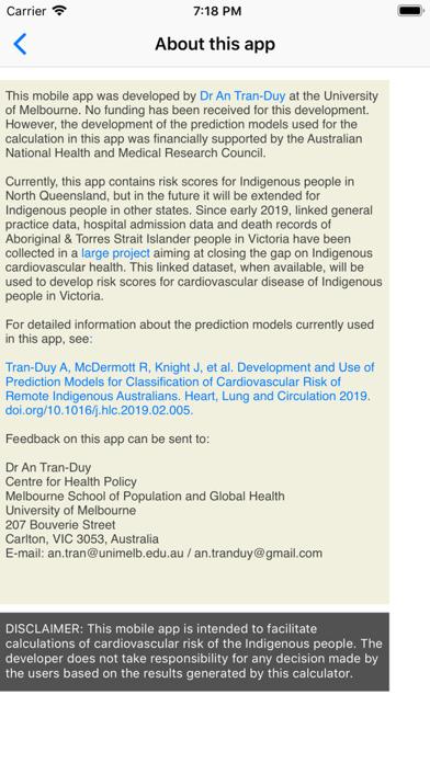 Indigenous CVD Risk Calculator