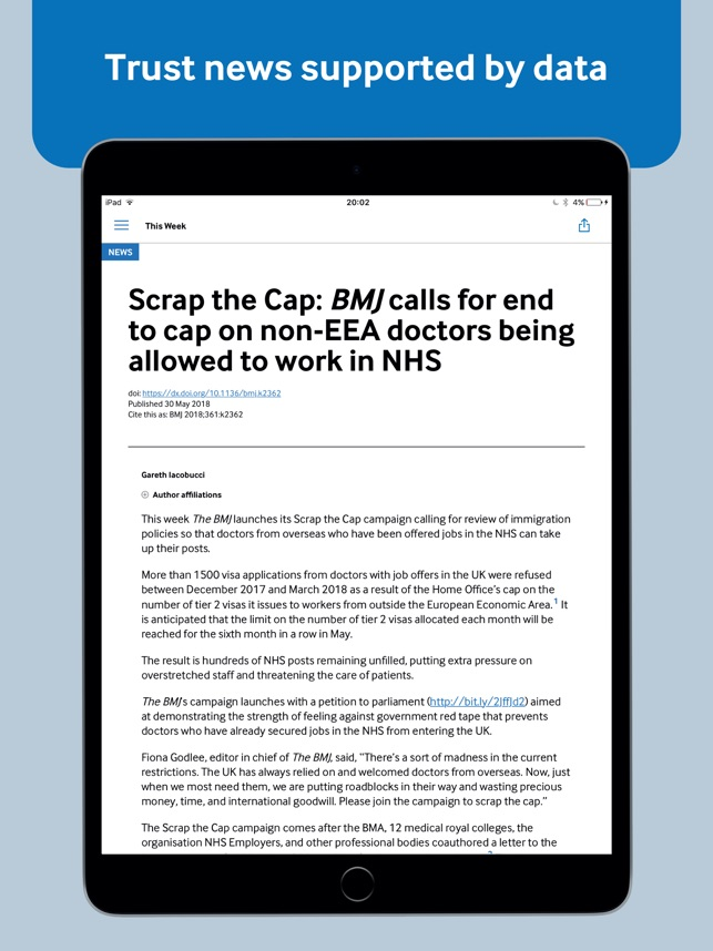 The BMJ on the App Store