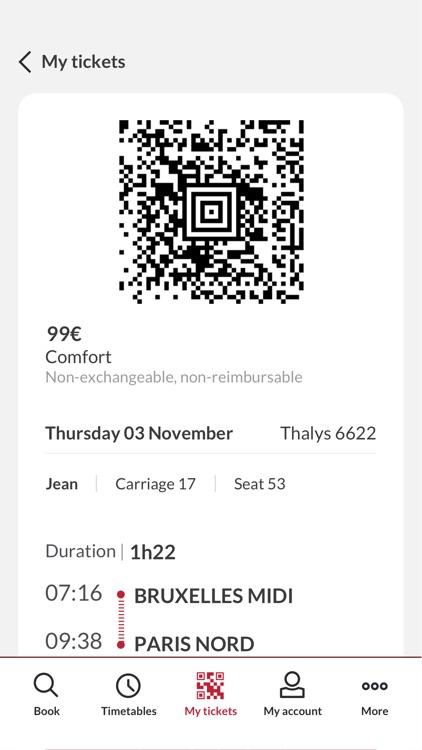 Thalys - International trains screenshot-6