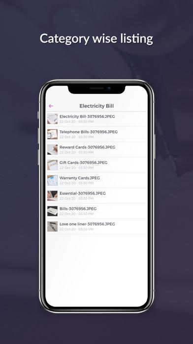 Handy Safe Vault for Document Screenshot