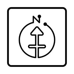 方位ポン【九星気学】にしけい氏監修方位地図アプリ】