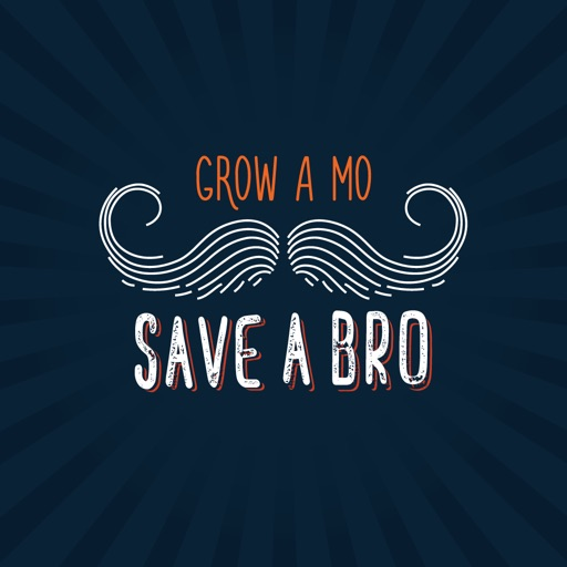Movember Moustache Mo Stickers