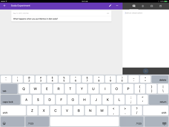 Science Journal by Google-ipad-2