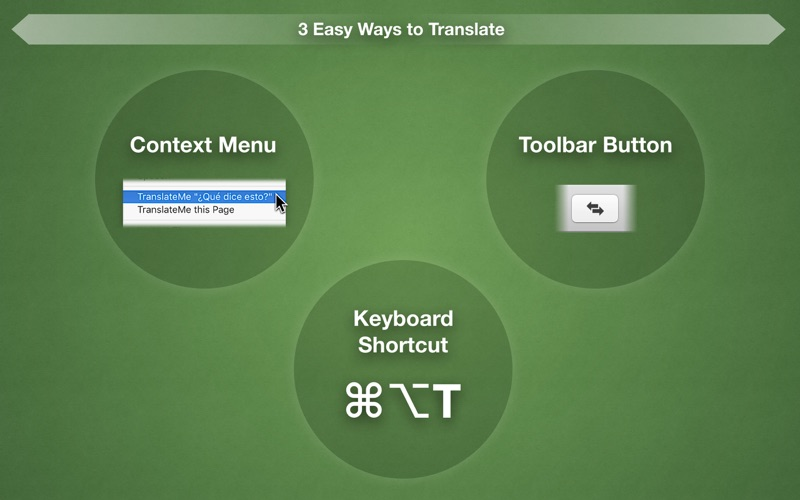 TranslateMe for Safari