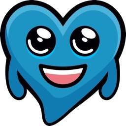 Blue Hearts stickers