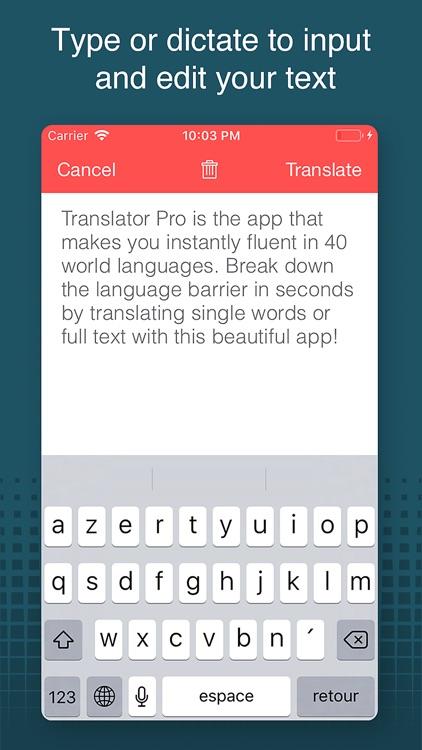 Translator Pro! screenshot-3
