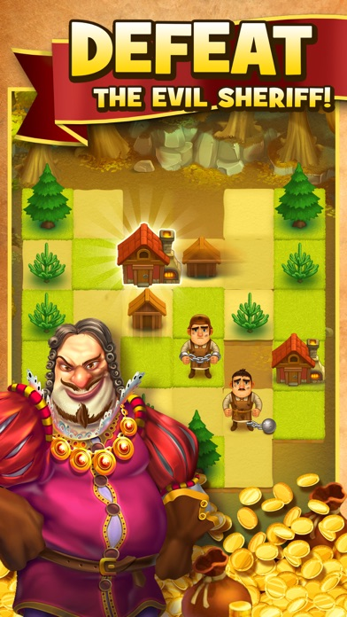 Robin Hood Legends - Merge 3 screenshot 3