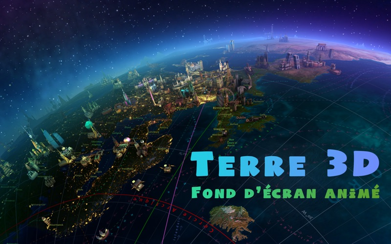 Screenshot Terre 3D