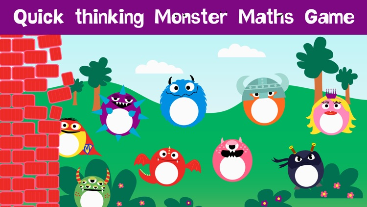 Monster Math - Learning fun