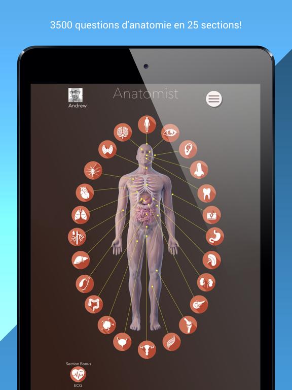 Screenshot #4 pour Anatomist – Anatomie Quiz Jeu