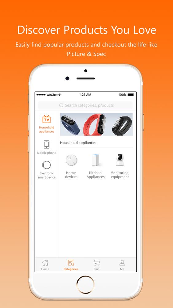 Smile Shop-Leading Online Shop App for iPhone - Free Download Smile