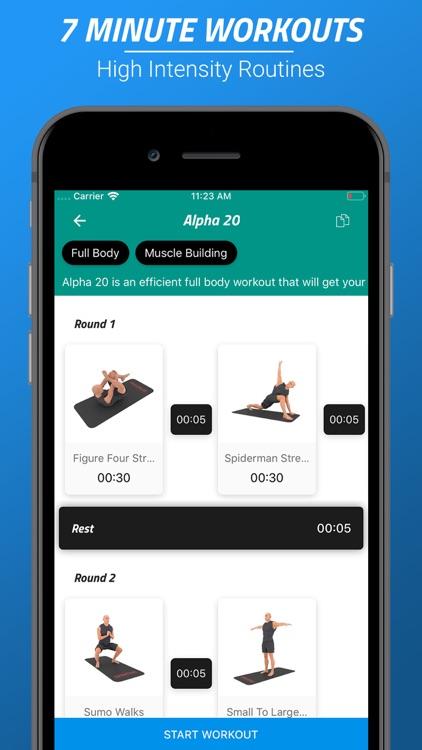 7 Minutes Workouts PRO screenshot-0