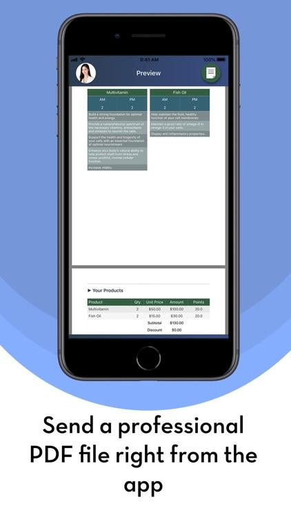 DR - Health professional CRM screenshot-5