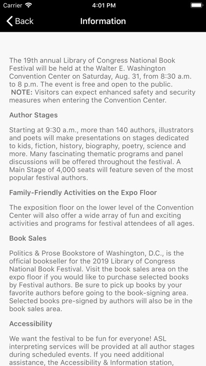 National Book Festival screenshot-3