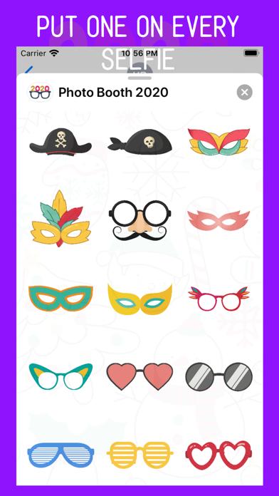 Photo Booth 2020 Stickers screenshot three