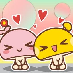 CuteMushroom Gif Sticker