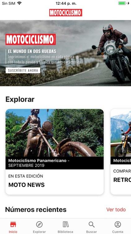 Motociclismo Panamericano screenshot-0