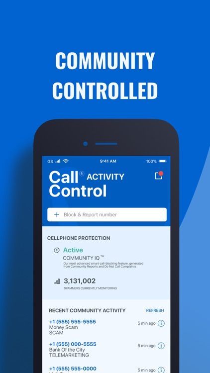 Call Control: #1 Call Blocker screenshot-3