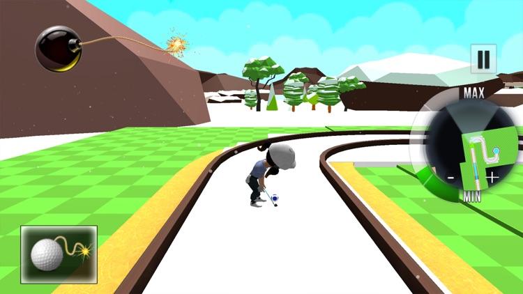 Boom Golf 3D screenshot-5