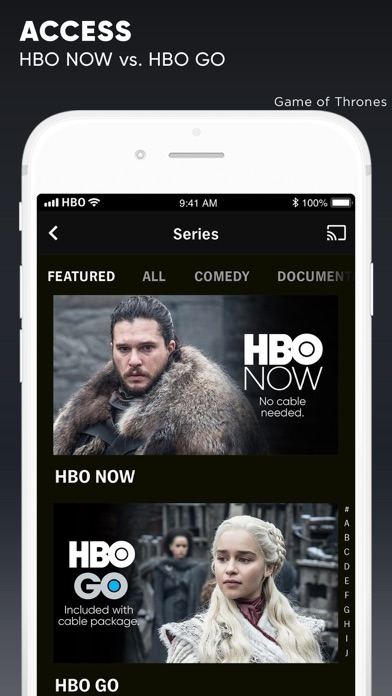 HBO NOW: Stream TV & Movies app image