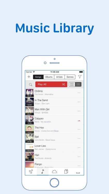 GoPlayer: cloud music player screenshot-3