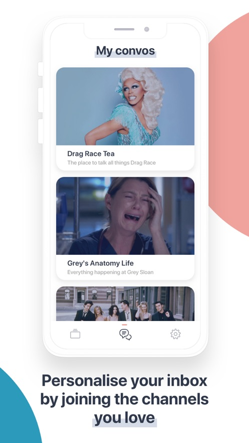 Inconvo: Messenger Community App 截图