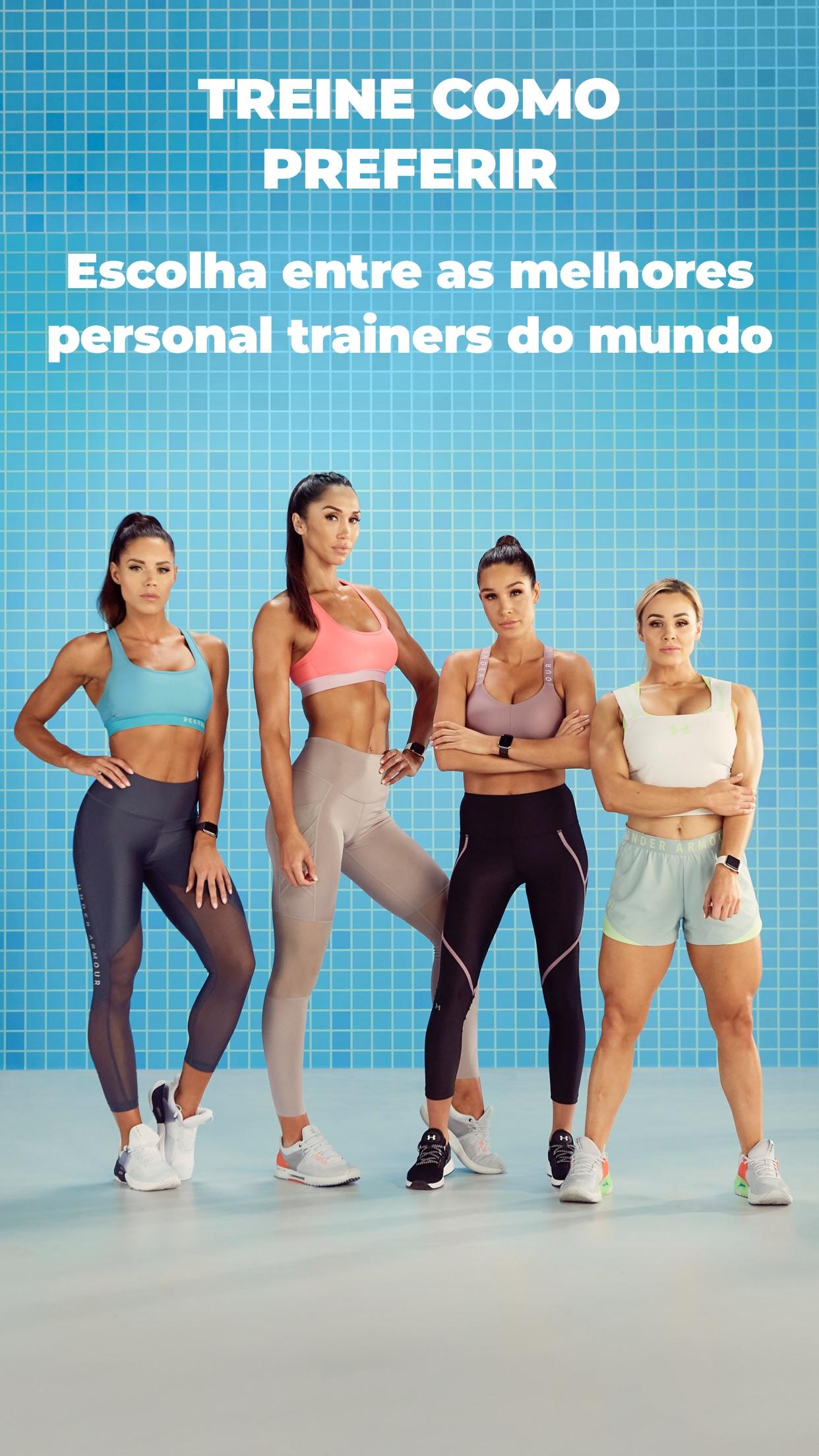 Screenshot do app SWEAT: Fitness Kayla Itsines