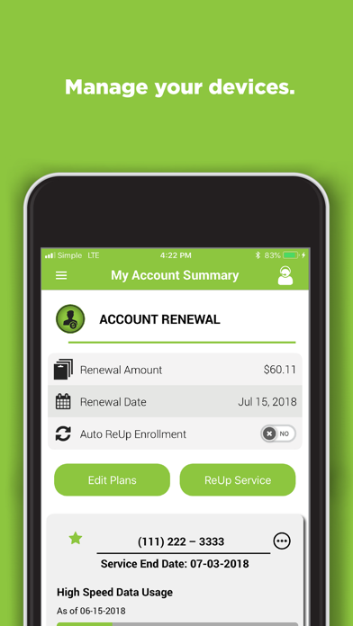 SIMPLE Mobile My Account - Revenue & Download estimates - Apple