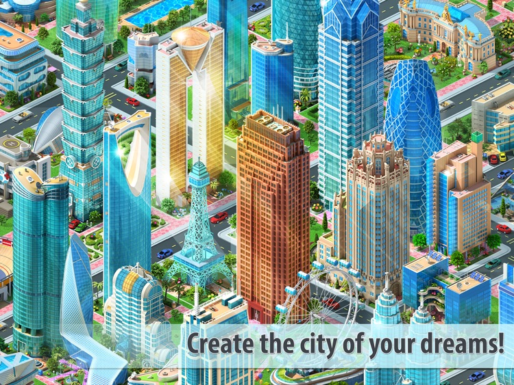 Megapolis HD: city tycoon sim screenshot-0