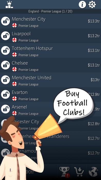 Idle Football Tycoon screenshot 1