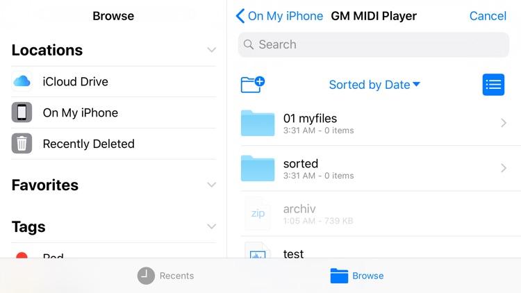 GM MIDI Player screenshot-6